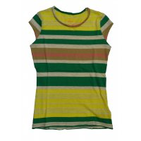 Tom Tailor striped tee grün