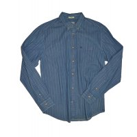 Wrangler Hemd Button-Down indigo