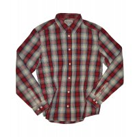 Wrangler Hemd L/S One Pocket check red ink