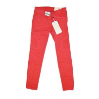 Tom Tailor Jeans Linly overdyed biker tregging virtual red