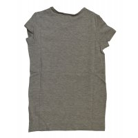Tom Tailor tee with longer backside medium grey