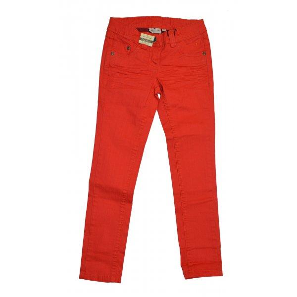 Tom Tailor Jeans Lara inside coated denim red