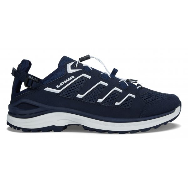 Lowa Schuh Madison LO navy/silber