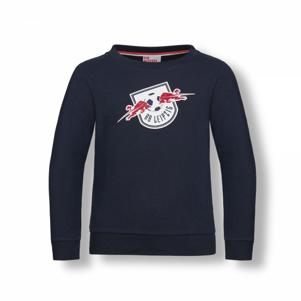 RB Leipzig Askew Pullover Kids 13 dark navy