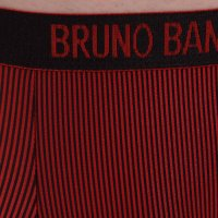 Bruno Banani Short Rays rot/schwarz