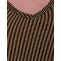 Bruno Banani V-Shirt Rays gold/schwarz