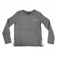 Tom Tailor Longsleeve cool lace-up tee real navy blue