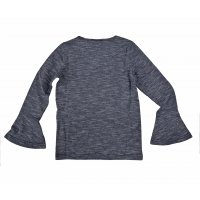 Tom Tailor Longsleeve striped tee with sequins  real navy...