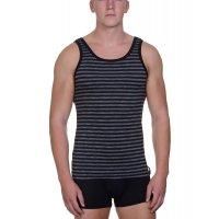 Bruno Banani Sportshirt Way Out schwarz/grau stripes