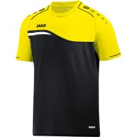 Jako T-Shirt Competition 2.0 black/neon yellow