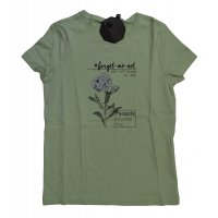Tom Tailor Shirt tee with artwork soft green