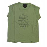 Tom Tailor Shirt boxy tee with glitter artwork