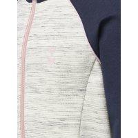 Hummel Zip Jacket Victoria whisperwhitemelange