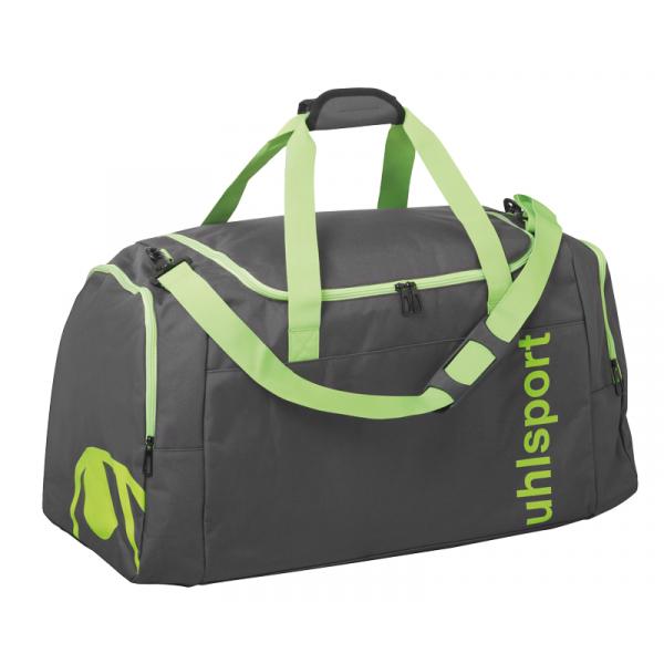 Uhlsport Essential 2.0 Sports Bag 75 l anthra/fluo green L