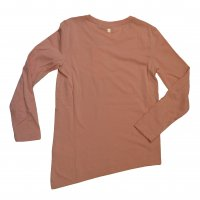 Tom Tailor Longsleeve fitted t-shirt with glitter print