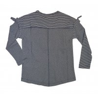 Tom Tailor Longsleeve with piquè stripe and...