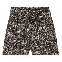 Garcia Ladies Shorts mit Zebraprint