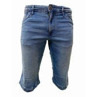 INDICODE Jeans Shorts KEM Blue Wash