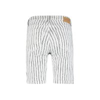Red Button Shorts Amy stripe